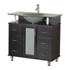 Modern Single Sink Vanity Set 36 The Huntington 36 Vanity
