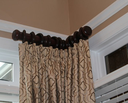 Short curtain curtain rod buy chadmade country Short curtain rods
