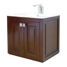 Traditional Wall-Mounted Bathroom Vanities | Houzz