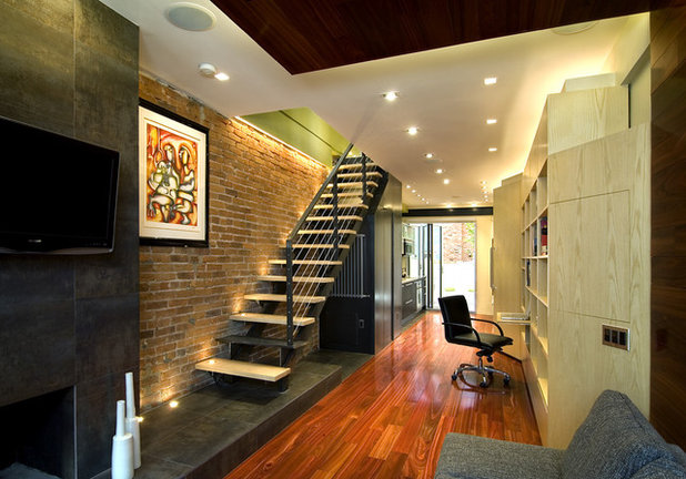 Design lessons from a 10 foot wide row house for Best row house designs