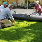 Fitting Artificial Grass Logo