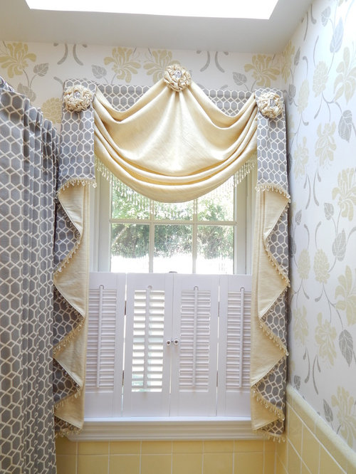 Elegant window treatments home design ideas pictures Elegant window treatment ideas