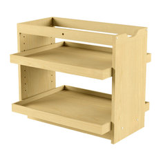 ... cabinets. With it's easily adjustable shelves it puts organization