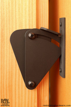 Prop barn door hardware kit modern style rustic barn for Real carriage hardware