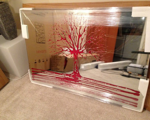 Silhouette Winter Tree Art Project for Kids - Buggy and Buddy