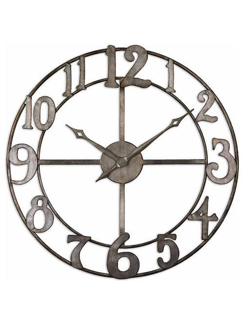 wall clocks houzz