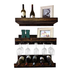 floating wall wine racks find wine glass rack and bottle. Black Bedroom Furniture Sets. Home Design Ideas