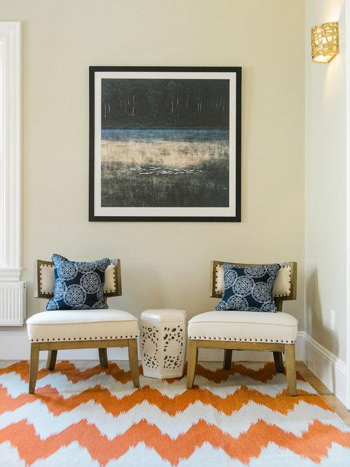Medium sized eclectic living room design ideas for Medium sized living room