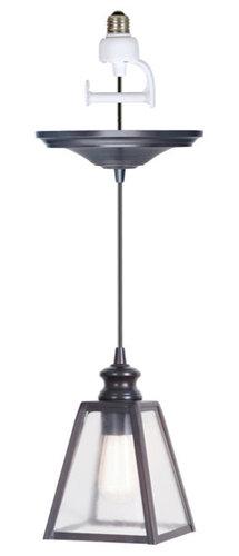 harper instant pendant light conversion kit pendant lighting. Black Bedroom Furniture Sets. Home Design Ideas