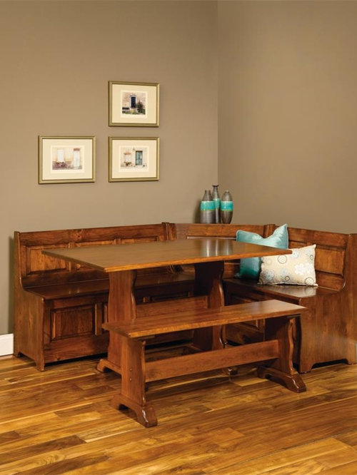 Dutchcrafters Amish Handcrafted Breakfast Nooks