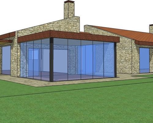 Progetto di casa di campagna ecosostenibile ad alta for Progetti di case in campagna