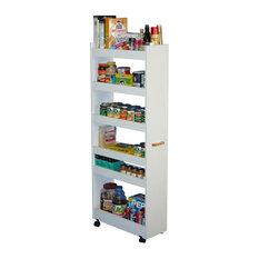 Venture Horizon - Venture Horizon Thin Man Pantry Cabinet - 4036-33OA - Durable melamine ...