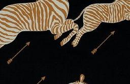 Zebras Wallpaper, Black