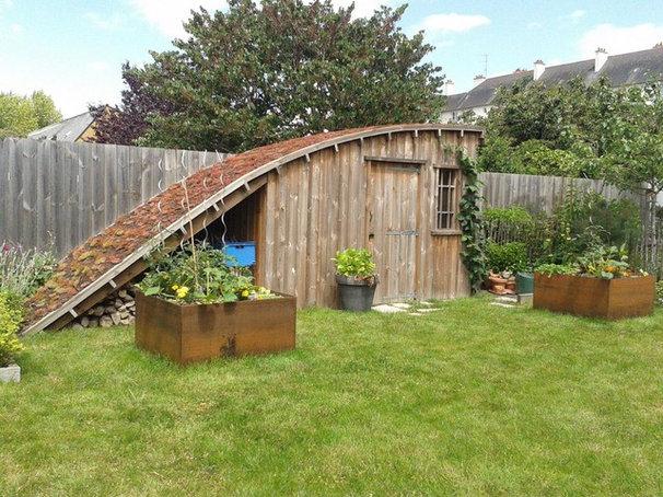 Visite priv e un jardin breton quip d 39 un abri hybride for Le jardin breton