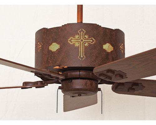Custom Rustic Ceiling Fans