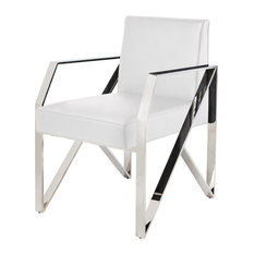 Armchair, White - Bring contemporary elegance to your dining room ...