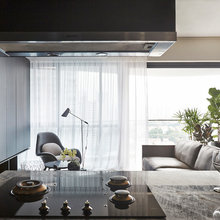 Houzz Tour: Celestial Shadows Inspire Chic and Calm in this Condo