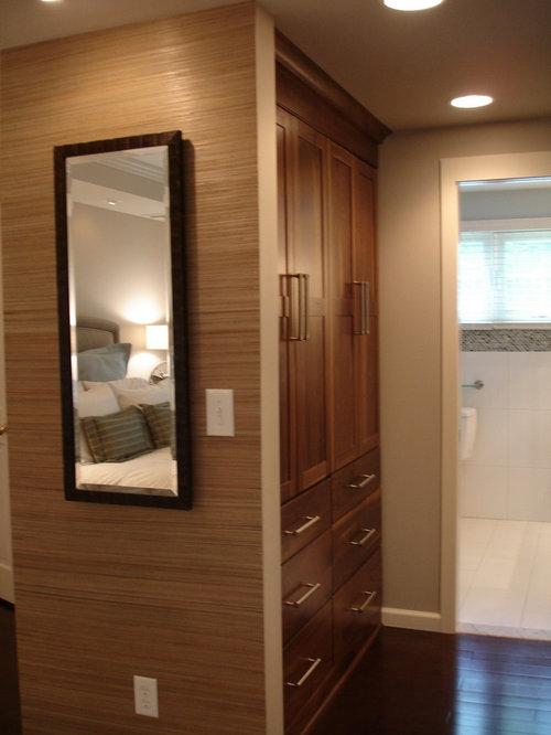 Walk Through Closet Home Design Ideas Pictures Remodel