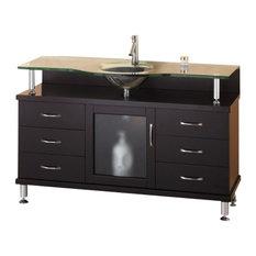 55 Inch Single Sink Vanity Bathroom Vanities | Houzz