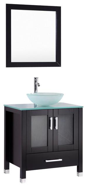 30'' Miami Collection Bathroom Vanity Set BCT9054