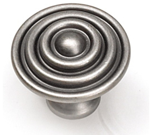 target knob antique pewter transitional cabinet and drawer knobs