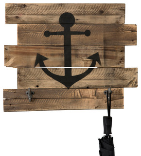 Nautical Anchor Wood Wall Decor, 17