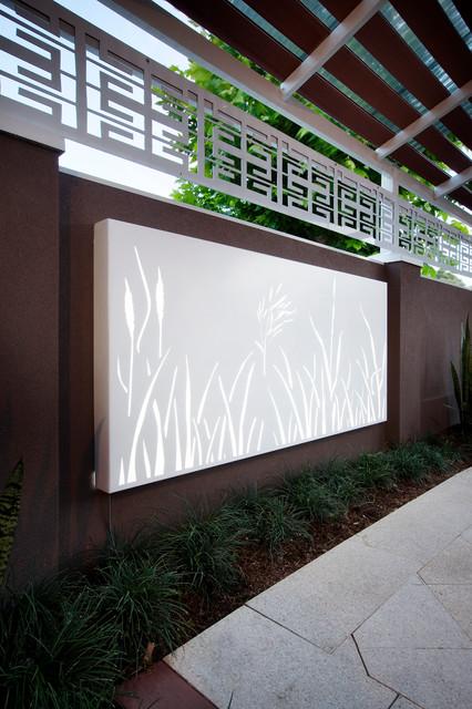 rush light box modern outdoor decor perth by