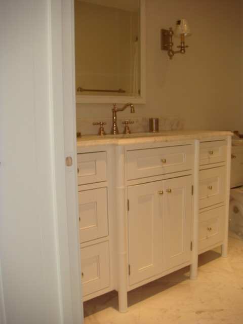 Classic Bamboo Bathroom Vanity Charleston By Woods Cabinets Llc