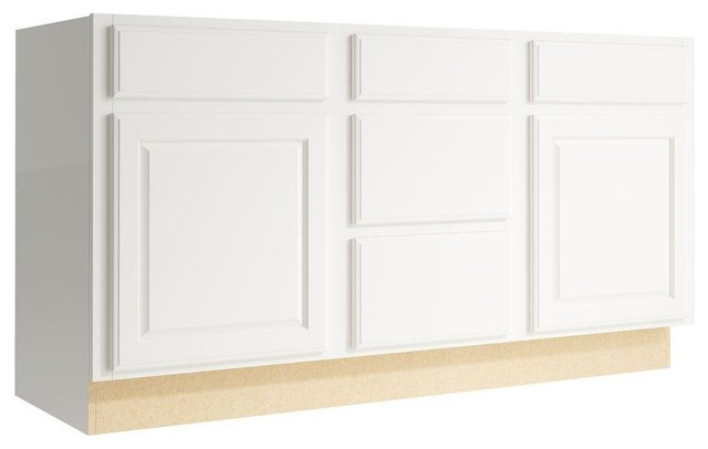 Cardell Cabinets Salvo 60 in. W x 31 in. H Vanity Cabinet Only in Lace ...