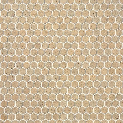 Perfect BlackEiffel White Honeycomb Tile