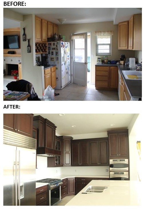 Our Home Remodel Including A More User Friendly Kitchen
