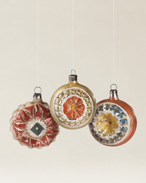 Christmas Ornaments Online Shopping Europe: European Glass Ornaments - Contemporary
