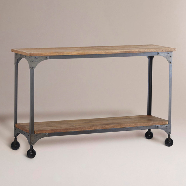 photos  Aiden Console Table eclectic side tables and end