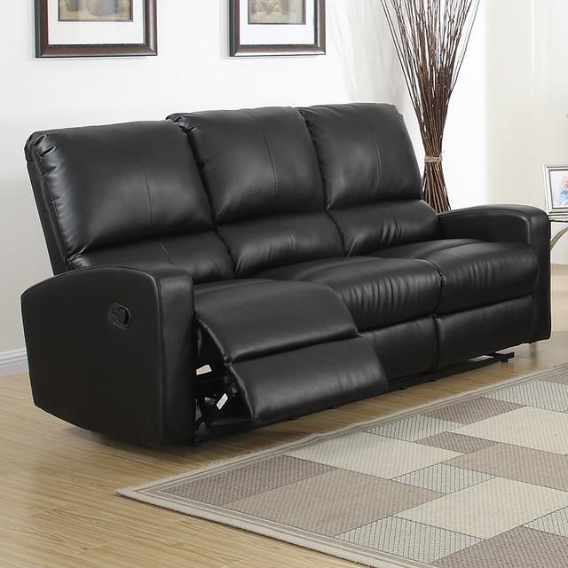 Bryant dual reclining sofa contemporary sofas by for Contemporary reclining sofas