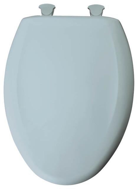 Bemis 1200SLOWT 000 Plastic Elongated Slow Close Toilet Seat Toilet Seats