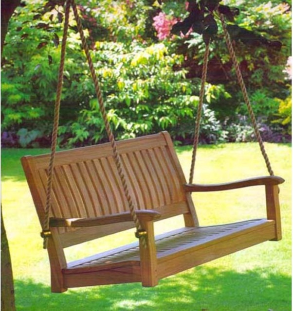 Image gallery outdoor swings for adults for Diy adult swing set