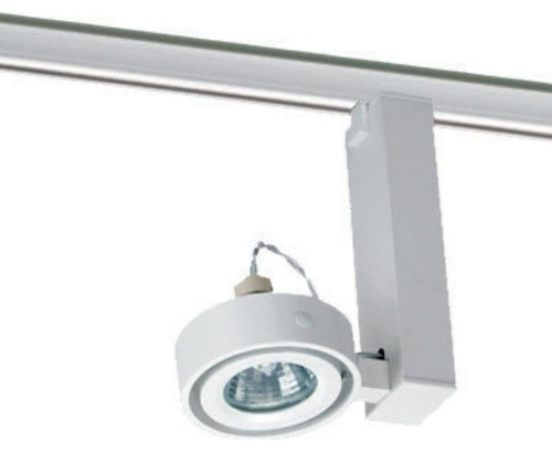Uno Light Track Head For Juno Track Lighting T811WH Modern Track Heads