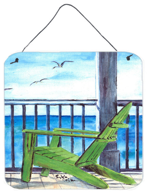 Adirondack Chairs Aluminium Metal Wall Door Hanging