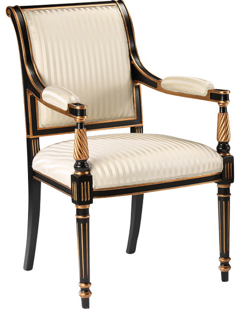 Regency Style Chairs ~ Regency style armchair traditional armchairs and