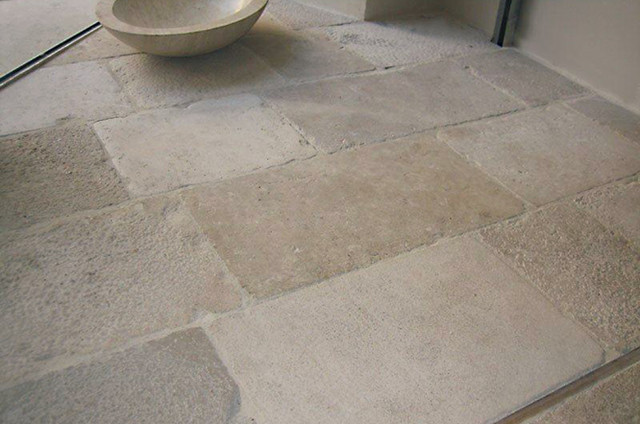 French limestone flooring traditional flooring for Tile flooring houston