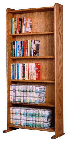 Dvd-Vhs Cabinet - Contemporary - Media Cabinets - by The Wood Shed