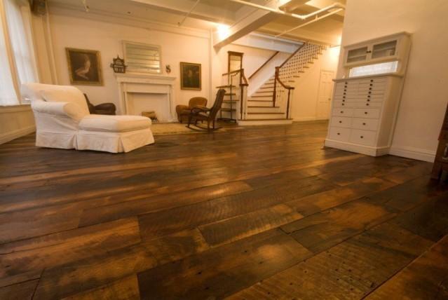 sàn gỗ malaysia trong nội thất phòng khách