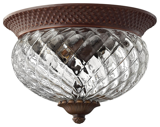Copper Flush Mount Ceiling Fixture