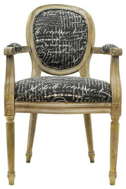 Rustic Accent Arm Chair Traditional Dining Chairs by  : traditional dining chairs from www.houzz.com size 428 x 640 jpeg 73kB