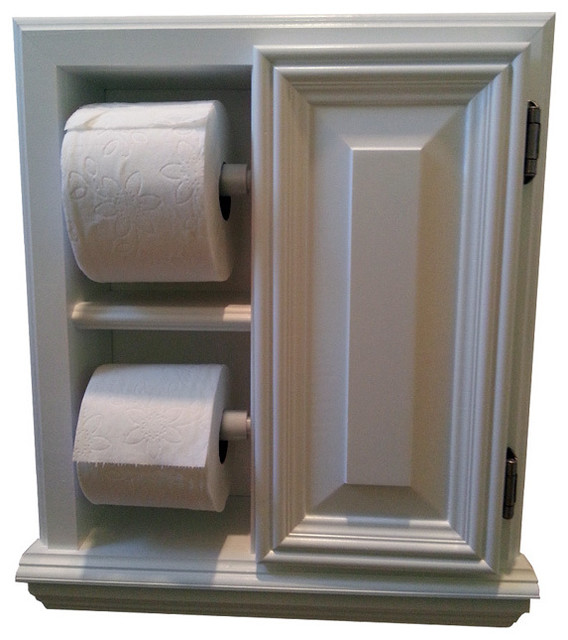 deltona series deluxe recessed toilet paper cabinet contemporary toilet paper holders by. Black Bedroom Furniture Sets. Home Design Ideas