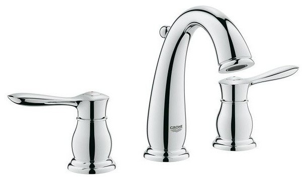 Grohe Parkfield Widespread Lavatory Faucet Contemporary Bathroom Sink And