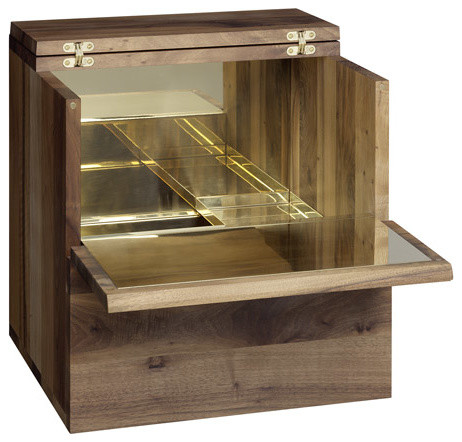 E15 Araq Wall-Mounted Bar Cabinet - Contemporary - Wine And Bar Cabinets - by Utility