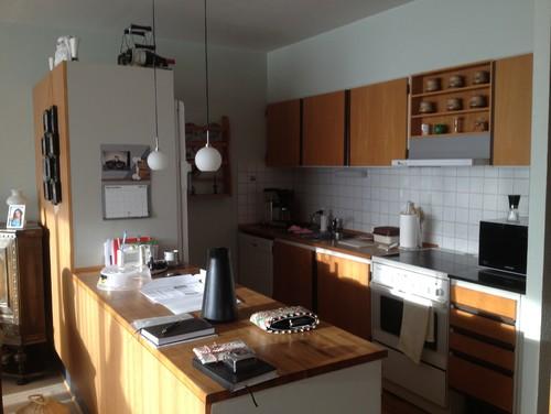 Indretning af køkken/stue