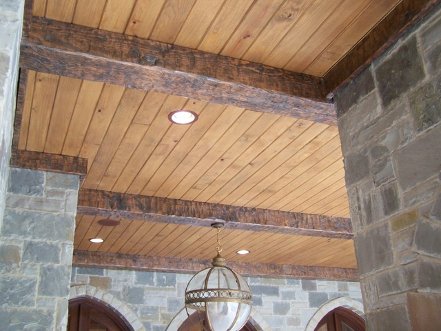 Timber beams traditional home decor dallas by for Fypon wood beams