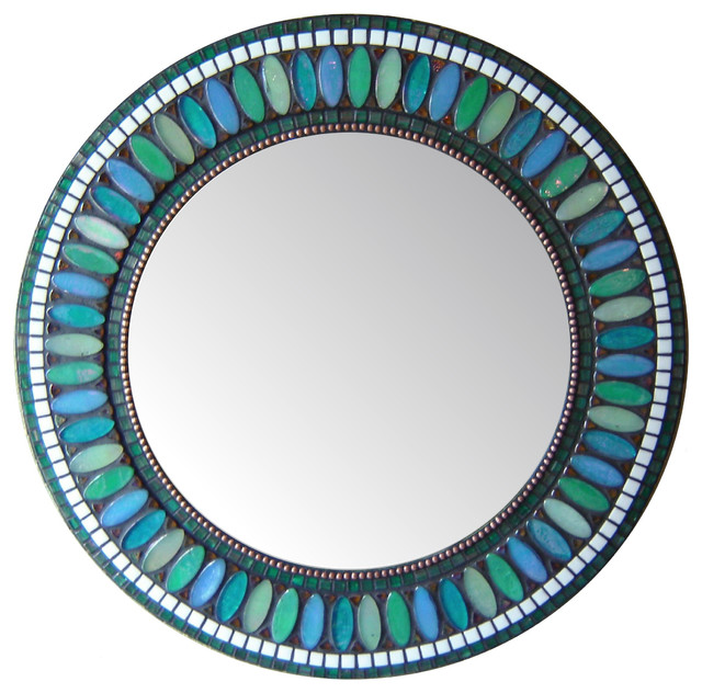 Perfect Other Mosaic Mirrors  Contemporary  Bathroom Mirrors  Other Metro